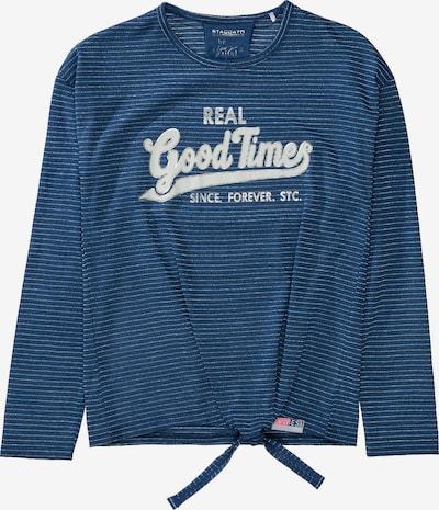 STACCATO Shirt in blau / rauchblau, Produktansicht