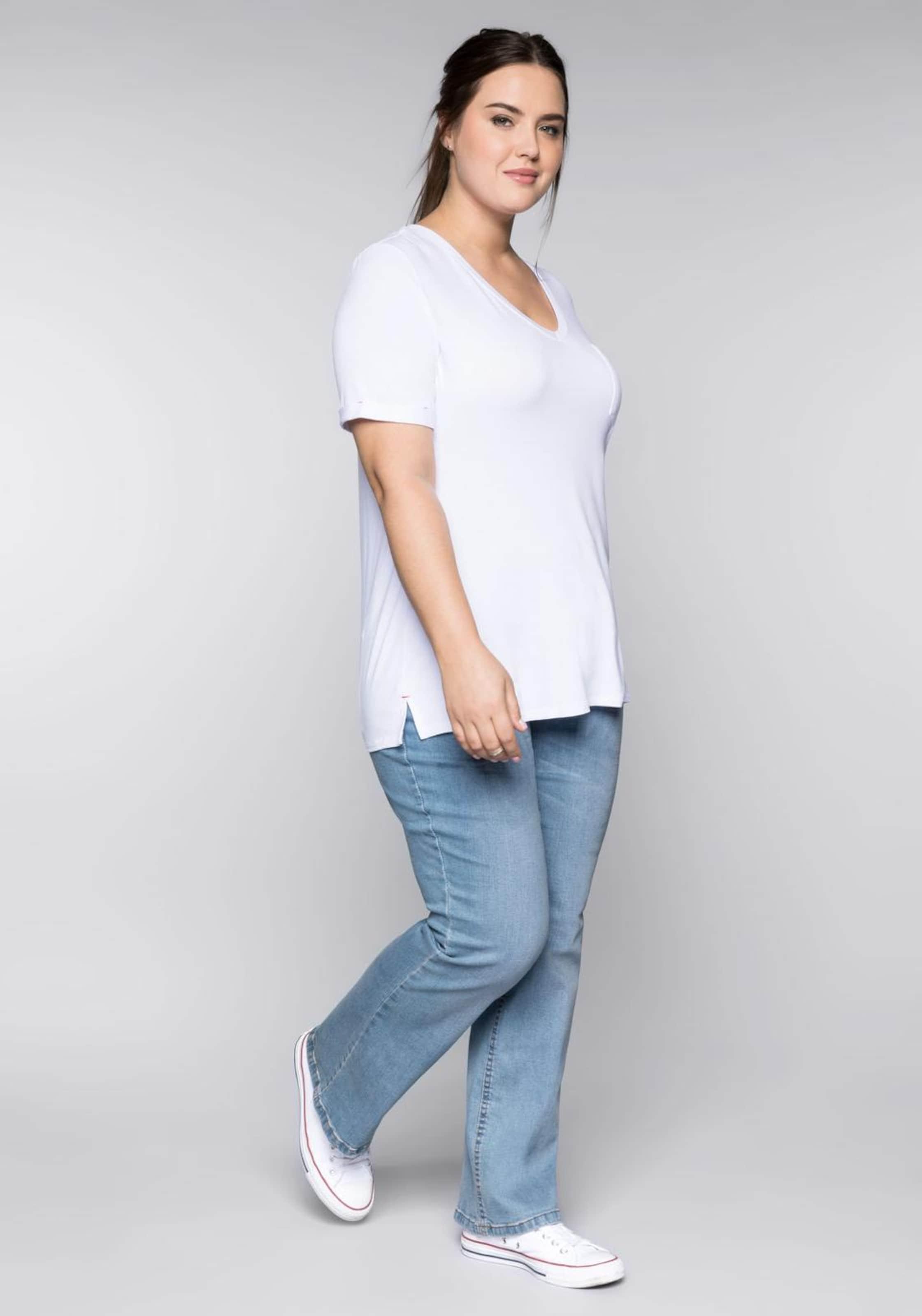 shirt T In Sheego Weiß 6vYbfgymI7