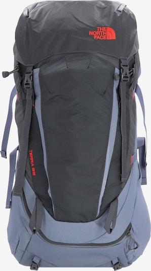 THE NORTH FACE Sac à dos de sport 'Terra 55' en bleu fumé / gris foncé / rouge clair, Vue avec produit