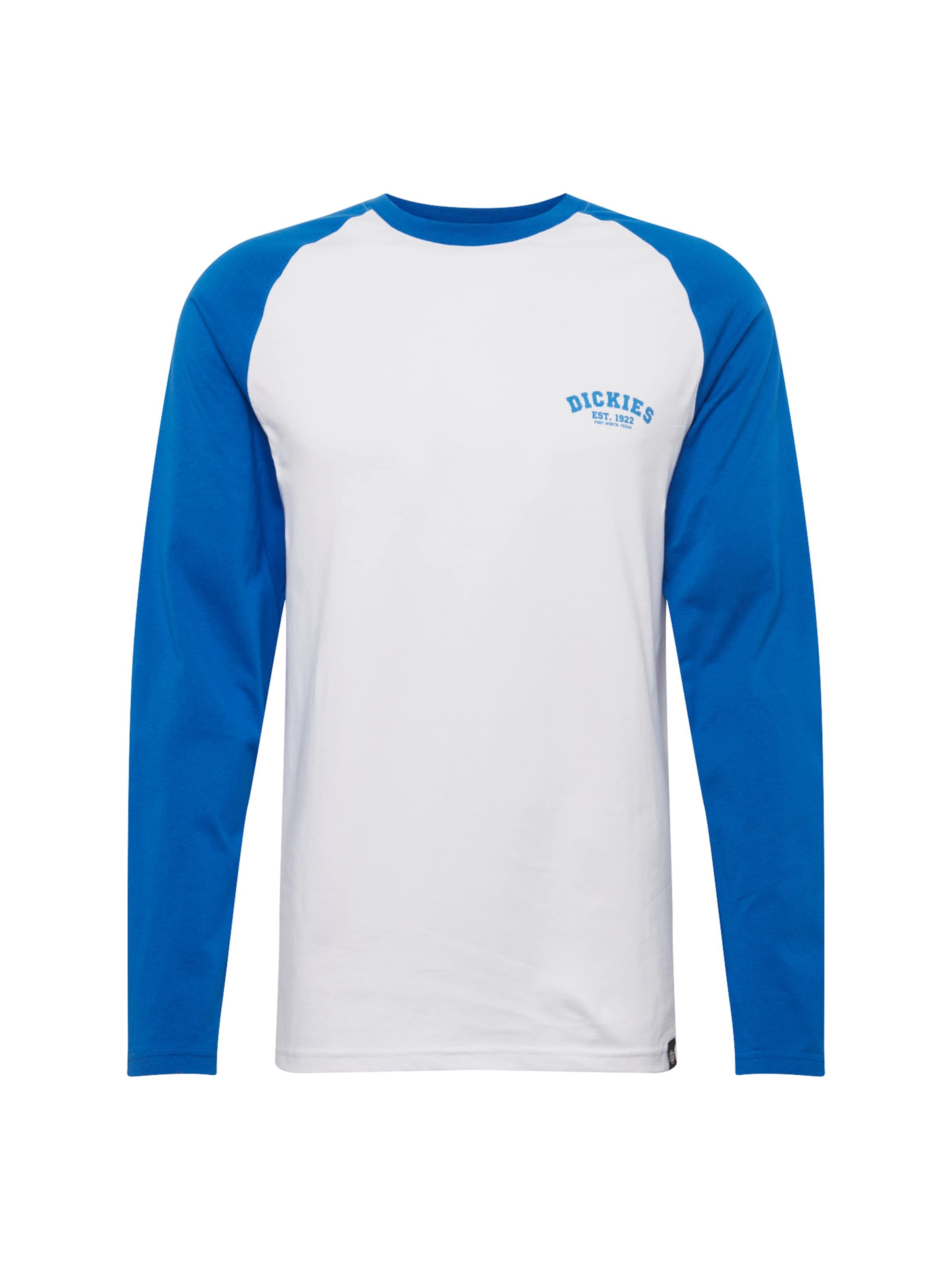 Roi Bleu 'baseball' T Blanc shirt En Dickies wqUTXxC