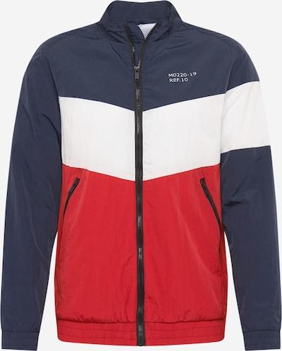 Hailys Men Prechodná bunda 'Ivar' - námornícka modrá / červené, Produkt