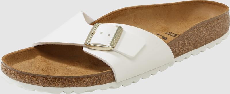 BIRKENSTOCK Fußbett | Sandale mit Fußbett BIRKENSTOCK und Kontrastsohle  Madrid 476b05