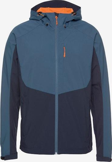 ICEPEAK Tussenjas 'Barnes' in de kleur Blauw / Marine / Sinaasappel, Productweergave