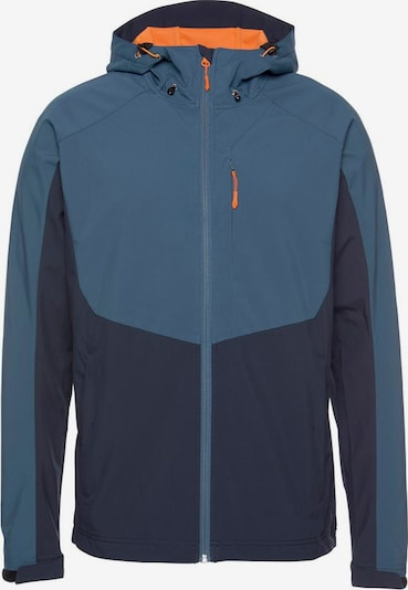 ICEPEAK Sportjas 'BARNES' in de kleur Blauw / Marine / Sinaasappel, Productweergave
