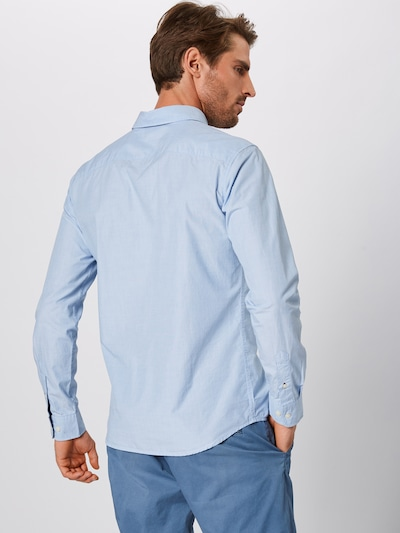 Dalykiniai marškiniai iš SELECTED HOMME , spalva - šviesiai mėlyna: Vaizdas iš galinės pusės