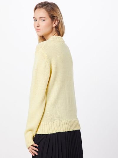 b.young Sweter 'BYMYRA JUMPER' w kolorze żółtym: Widok od tyłu