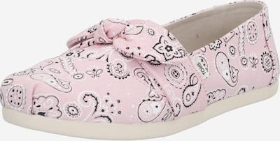 TOMS Slipper in rosa / schwarz / weiß, Produktansicht