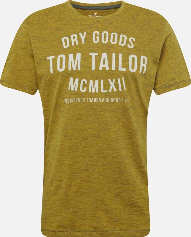 Jaune shirt En Tailor T Tom PkXuZiO
