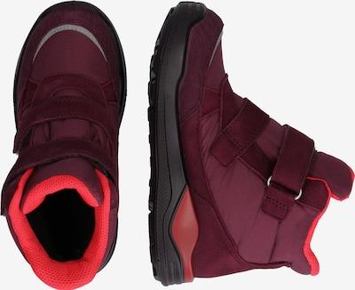 Auliniai batai su kulniuku 'ScarSimba' iš ECCO , spalva - purpurinė: Vaizdas iš šono