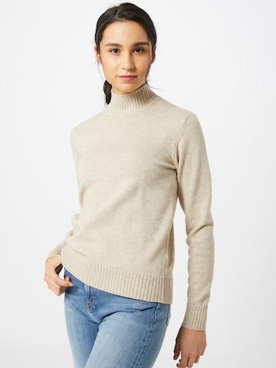 VILA Pullover in beige, Modelansicht