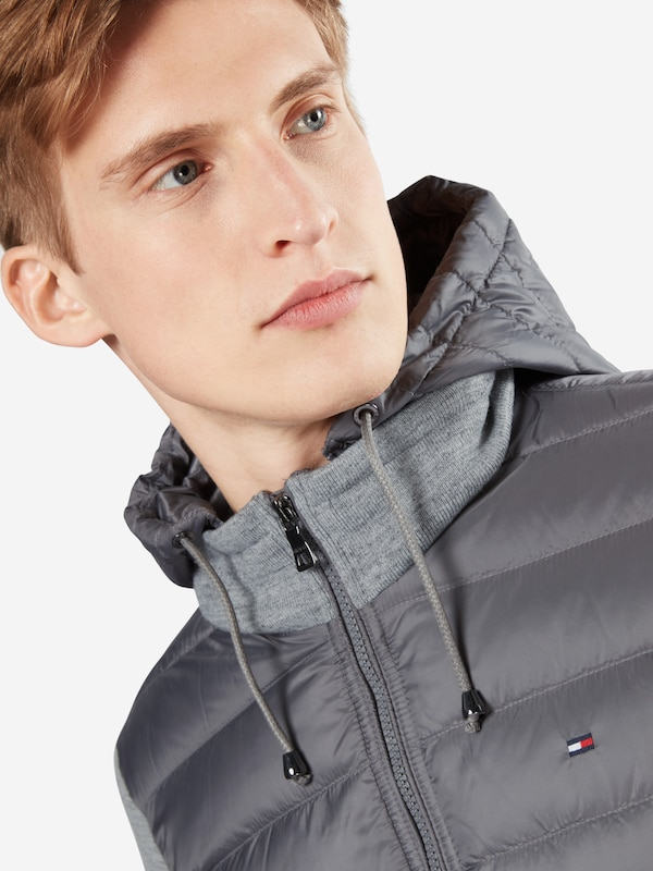 Hilfiger Down Jacket With Sweat-sleeved