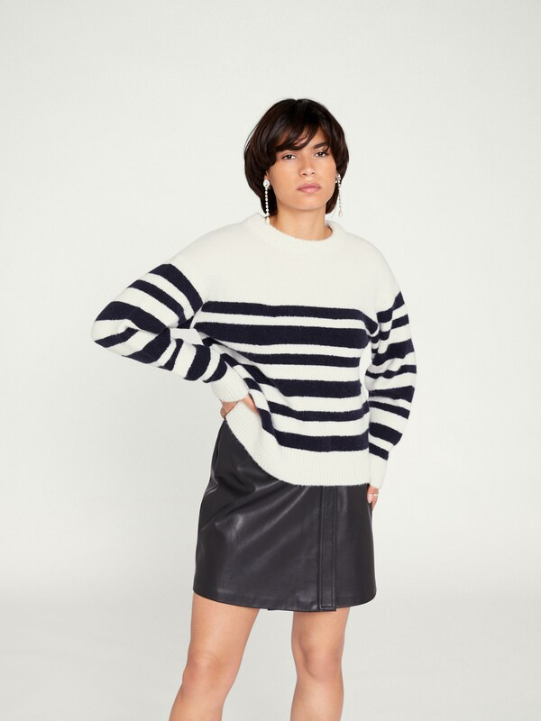 Pull over En Naturel MarineBlanc 'dory' Edited Bleu VUzMSp