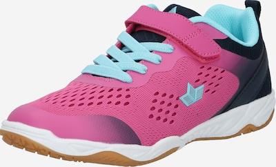 LICO Sneaker 'Key' in türkis / dunkelblau / pink, Produktansicht