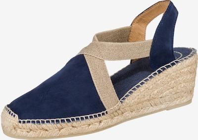 Toni Pons Sandaletten 'Tona' in beige / blau, Produktansicht