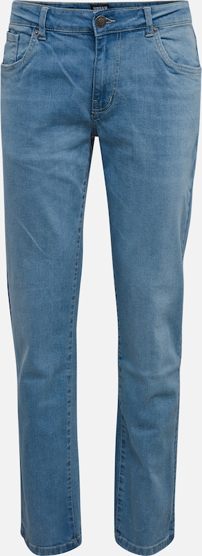 Urban Classics Jeans 'Relaxed Fit Jeans' in blue denim, Produktansicht