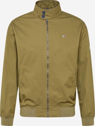 Tommy Jeans Prechodná bunda - olivová, Produkt