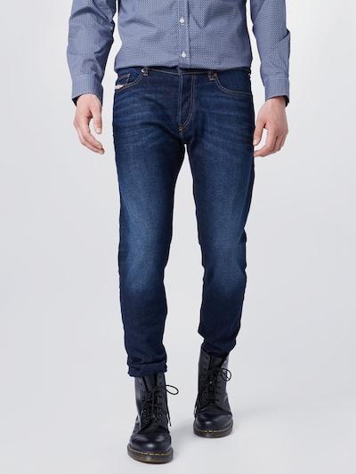 Džinsai 'LUSTER' iš DIESEL , spalva - tamsiai (džinso) mėlyna, Modelio vaizdas