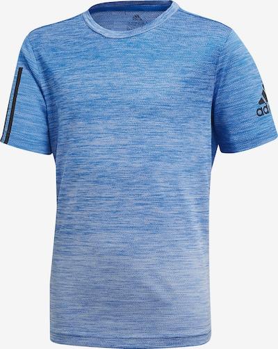 ADIDAS PERFORMANCE Shirt in blau / schwarz, Produktansicht
