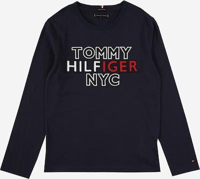 TOMMY HILFIGER Shirt in navy / hellrot / weiß, Produktansicht