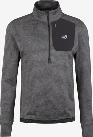 T-Shirt fonctionnel new balance en gris