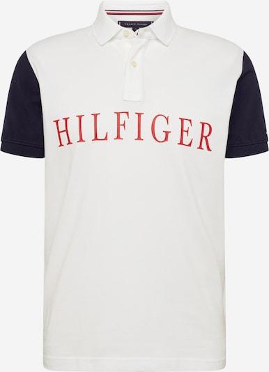 TOMMY HILFIGER Poloshirt in dunkelblau / rot / weiß, Produktansicht