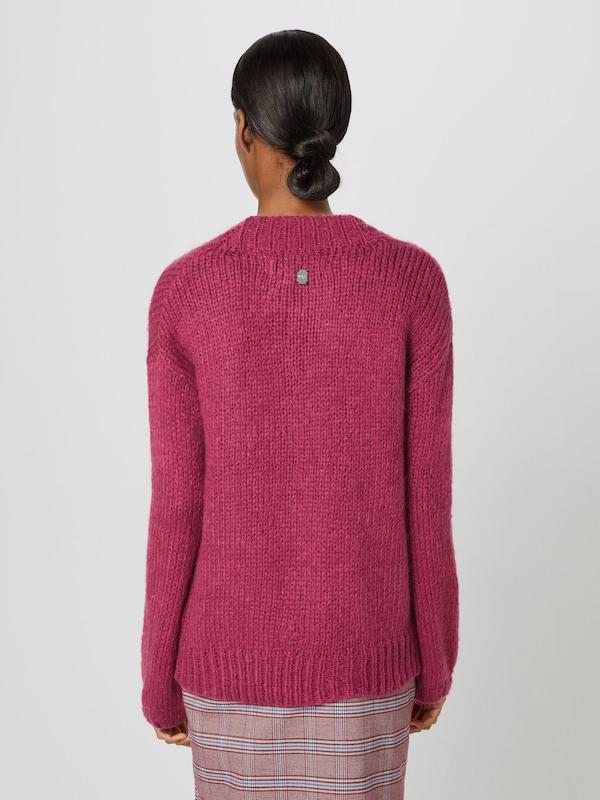 REPLAY REPLAY REPLAY Pullover in burgunder  Neu in diesem Quartal e83133