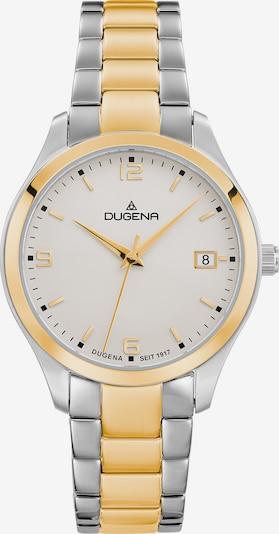 DUGENA Armbanduhr in creme / gold / silber, Produktansicht