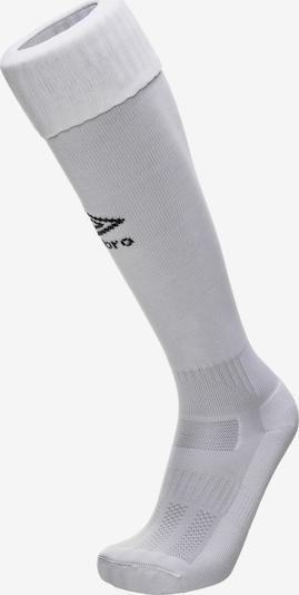 UMBRO Sockenstutzen 'Classico' in hellgrau / weiß, Produktansicht
