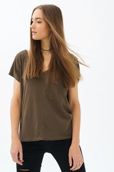 trueprodigy T-Shirt in oliv: Frontalansicht