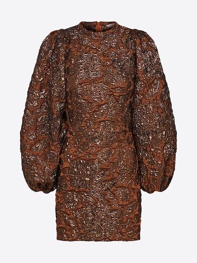 Kokteilinė suknelė 'Harriet 11334' iš Samsoe Samsoe , spalva - ruda: Vaizdas iš priekio