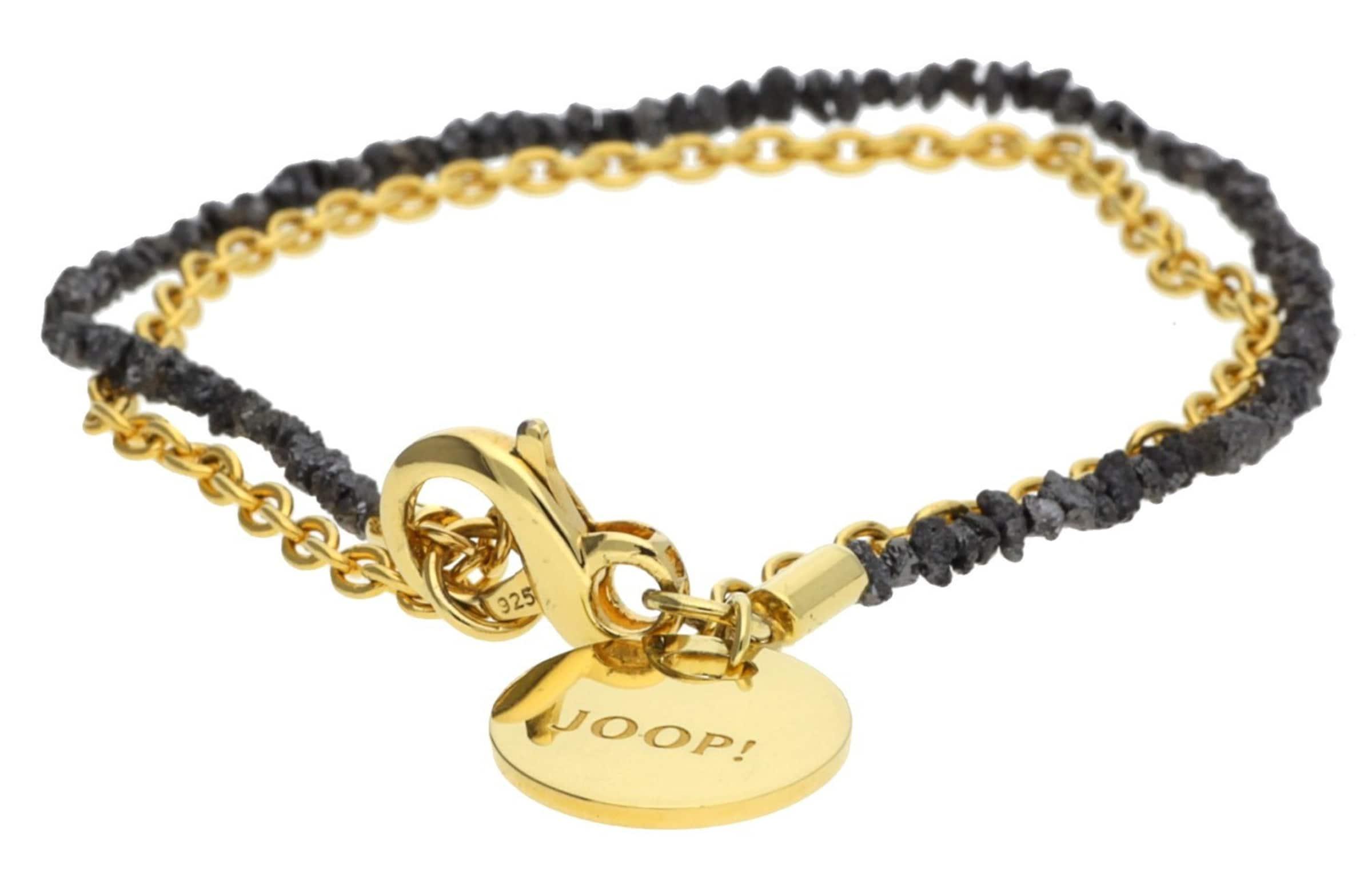 Auf Heißen Verkauf JOOP! Armband 925 Silber Gold Diamond String Neue Stile Zu Verkaufen Für Schön DKYw72YA