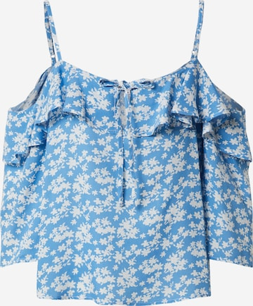 ABOUT YOU Bluse 'Jeanette' in Blau