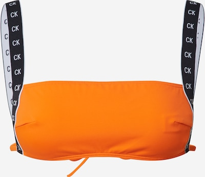 Calvin Klein Swimwear Bikinitop 'SQUARE' in de kleur Sinaasappel, Productweergave