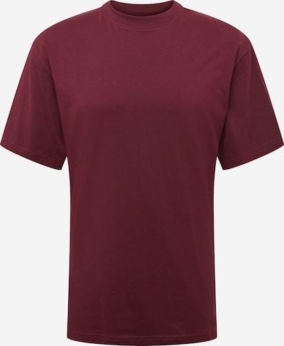 Urban Classics Shirt in de kleur Bourgogne, Productweergave