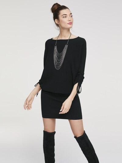 heine Strickkleid in schwarz, Modelansicht