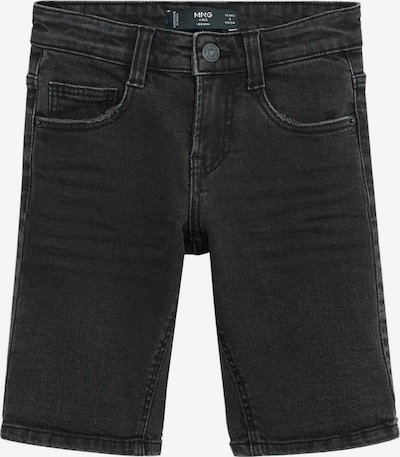MANGO KIDS Shorts 'JOHN' in black denim, Produktansicht