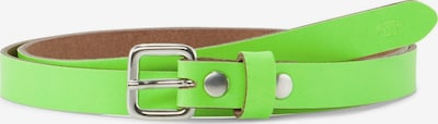 TOM TAILOR Belts Schmaler Ledergürtel in grün, Produktansicht