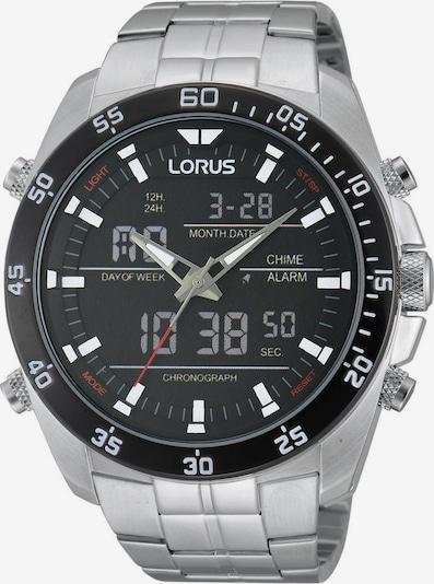 LORUS Uhr 'RW611AX9' in schwarz / silber, Produktansicht