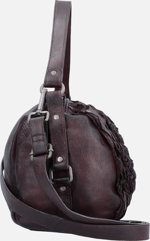 Taschendieb Wien Schultertasche Leder 39 cm