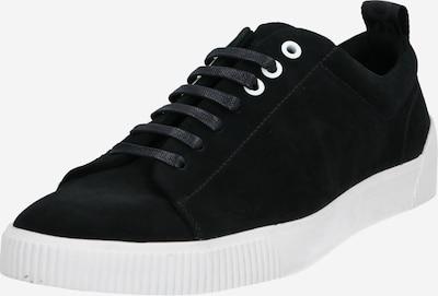 HUGO Sneakers laag 'Zero_Tenn_sd' in de kleur Zwart / Wit, Productweergave