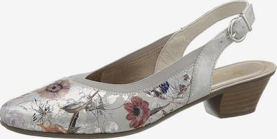 RIEKER Cipele s potpeticom i otvorenom petom u miks boja / srebro, Pregled proizvoda