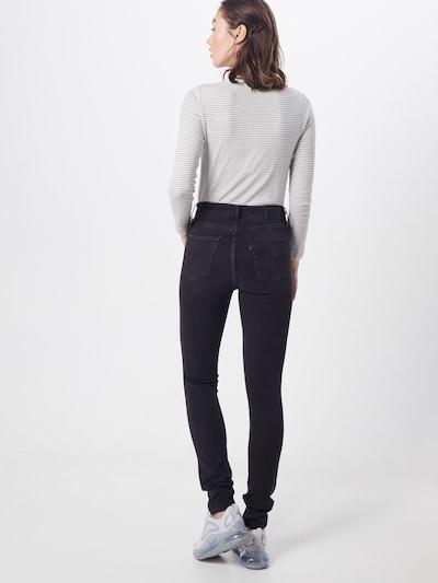 LEVI'S Jeans '721' in de kleur Grey denim: Achteraanzicht