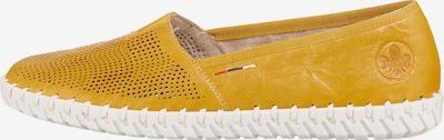 RIEKER Klassische Slipper in gelb, Produktansicht