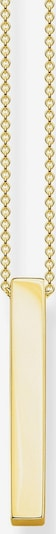Thomas Sabo Necklace 'Goldener Quader' in Gold, Item view