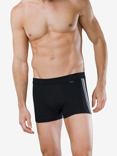 SCHIESSER Trunks in schwarz, Modelansicht