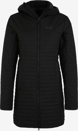 JACK WOLFSKIN Wintermantel 'Clarenville' in schwarz, Produktansicht