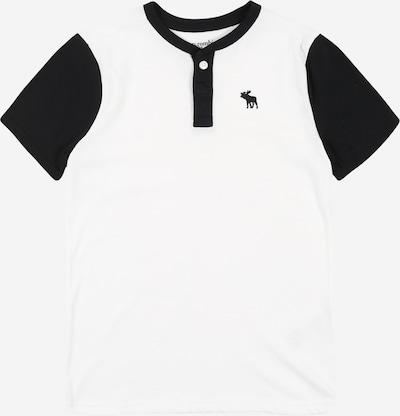 Abercrombie & Fitch T-Shirt 'SB20-J2 Dtc' en noir / blanc, Vue avec produit