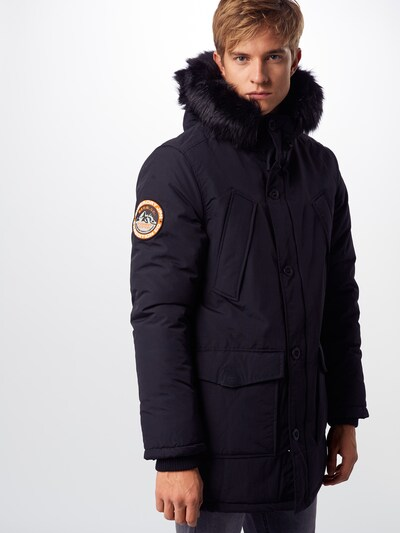 Superdry Parka 'EVEREST PARKA' in schwarz, Produktansicht