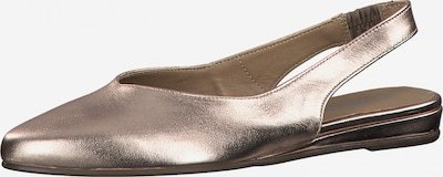 TAMARIS Slipper in gold, Produktansicht
