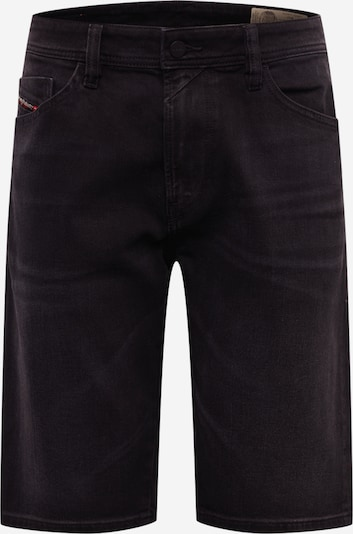 DIESEL Jeans 'THOSHORT' in de kleur Black denim, Productweergave
